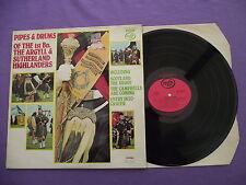 "Pipes & Drums 1st Bn The Argyll & Sutherland Highlanders. 12"" Vinyl Album 12A776"
