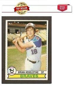 1979 Topps Brian Asselstine Atlanta Braves #529 Baseball Card