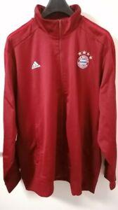 FC Bayern München Sportjacke Trainingsjacke 3XL XXXL weinrot Adidas