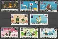 Timbres Scoutisme Ras al Khaima 69/PA105 o lot 8649