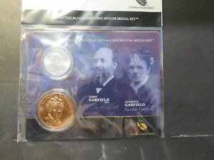 4 Different Presidential $1Coin and 1st Spouse Medal Sets, SEE BELOW #4