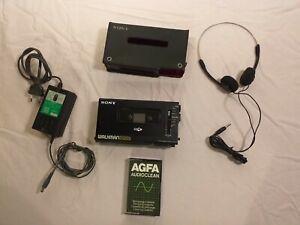 Sony Walkman WM-D6C Enregistreur de Cassettes Professionnel MINT