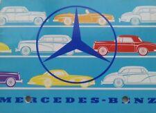 Original Mercedes 300SL 190SL 300S 300 220S 219 Prospekt Brochure