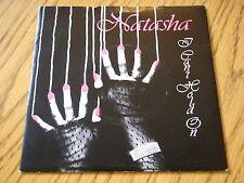 """NATASHA - I CAN'T HOLD ON   7"""" VINYL PS"""