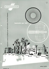 Depliant Brochure Innocenti Laminatoi per Tubi 1959 ORIGINALE