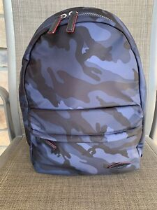 NWT MZ Wallace Dark Blue Camo Bleeker Backpack