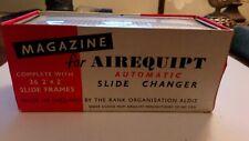 "6 x Automatic slide changer magazine Airequipt 36 2""x2"" slide frames vintage"