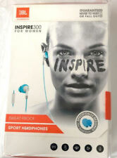 JBL Yurbuds Inspire 300 In-Ear Sport Headphones Sweat Proof Blue White