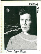 "Star Trek TOS Fanzine ""Crossroads""  SLASH Novel"