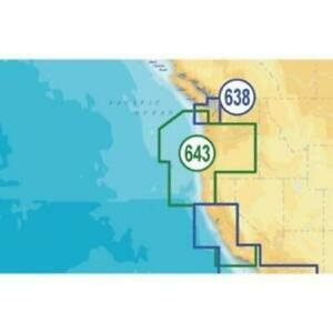 Navionics Platinum Plus Oregon and California Digital Marine Map (msd-643p)