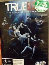 TRUE BLOOD SEASON 3 5 DISC SET DVD AUS RELEASE R4 - SB