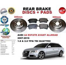 für Audi A4 avant-immobilien Allroad 2007-2015 HINTERE BREMSSCHEIBE SATZ +