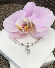 Pandora Letter B Charm, Bracelet Bead Dangle, Original, Brand New, #791314CZ