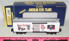 American Flyer ~ 6-48327 900 American Flyer Christmas boxcar