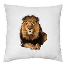 Housse de Coussin 40 x 40 cm - Lion - Roi de la jungle et des animaux - Yonacrea