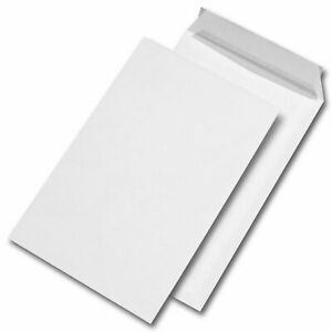 (Box of 500) Q-Connect White Envelopes C5 90gsm Self-Seal White KF3469