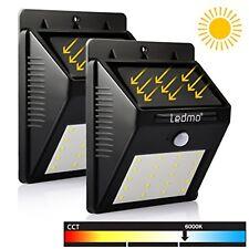 Energia Solare per Esterni 2x Lampade con 20 LED e Sensore di Movimento 6000K