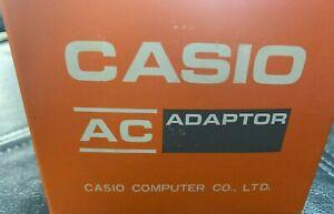 Casio AC Adaptor, AD-IU, INPUT AC-120V,NEW