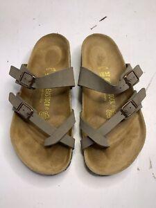 Birkenstock Womens Mayari Sandals Mocha  Size US6 EU37