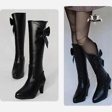 1/3 BJD Shoes Dollfie DREAM High heels Boots Dollmore AOD DOD SOOM MID DZ #Black