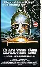 Gladiator Cop [VHS], Good VHS, Lorenzo Lamas, Joe Lalogga, Pete, Nick Rotundo