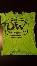 VTG 70s Youth Kids Daniel Webster Inn T-Shirt Sandwich Massachusetts Cape Cod