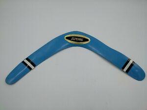 Vintage Blue Rinco Boomerang V Hook Curved Bent Flight Untested 14 1/2 Tip - Tip
