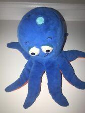 Kohls Cares for Kids Blue & Orange Pout Pout Octopus Stuffed Plush Animal Toy
