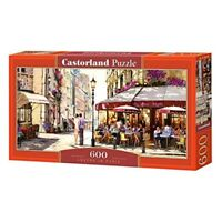 Lovers In Paris - 600 Pieces - Castorland Puzzle B060085 New Panoramic Jigsaw