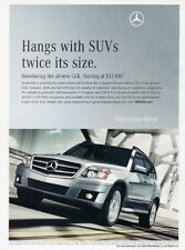 2010 Mercedes Benz GLK350 Original Advertisement Print Art Car Ad K36