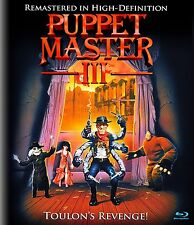 PUPPET MASTER III - BLU-RAY - UNCUT - SPECIAL EDITION - DAVID DeCOTEAU