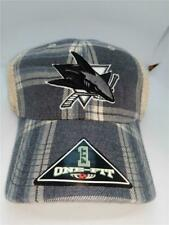 New San Jose Sharks Adult Mens Size OSFA One Size Fits All Hat