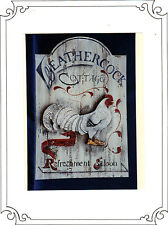 """""""Weathercock Cottage Sign"""" Pattern Packet by Peni Powell~OOP"""