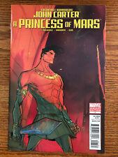 John Carter A Princess of Mars #1 Skottie Young Variant Marvel Comics 2011 VF