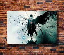 Boruto Uzumaki Naruto Sasuke Uchiha Art Silk Poster 12x18 24x36