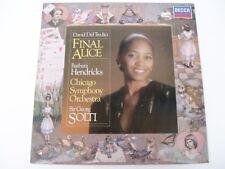 David Del Tredici - Final Alice - Georg Solti- 1981 Decca SXDL7516 - LP