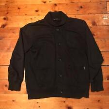 CARHARTT NERO XL Extra Large Varsity Giacca Wip logo streetwear Jersey Coat