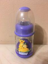 New listing Vintage Nuby Infant Feeder Bottle Baby Cereal Baby Food 2oz Stage 1 Purple