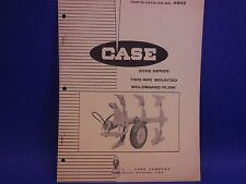 1965 Case Parts Catalog No. A903, 200S Series, Two-Way Mounted Moldboard Plow