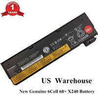 6cell OEM 68+ Battery for Lenovo ThinkPad X240 X250 T440s T450s T550 45N1128 NEW
