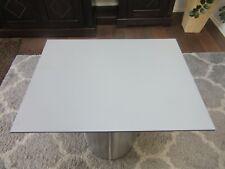 HPL Platte Tischplatte 8mm Silver Grey beidseitig 696 x 528 mm TRESPA® Meteon®