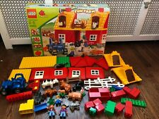 Lego Ville 4665 Fun Farm Red Barn, Cows, Tractor, 3 People, Pigs, Horse, Cat++