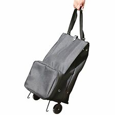 InstaBag Expandable Traveling Case,Adjustable Straps, Folding Wheel