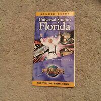 Vintage Universal Studios Florida Park Guide 1999 KidZone Opening