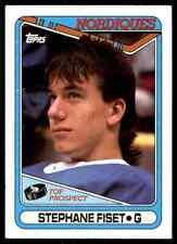 1990-91 Topps Stephane Fiset #312
