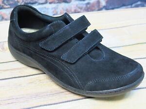 Aravon Bromly Double Strap Black Leather Oxford  *CG8764