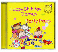 Happy Birthday Games & Pop Party .  Kids party games and songs CD  NEW & WRAPPED