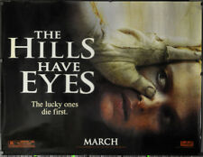HILLS HAVE EYES 2006 ORIG 46X60 SUBWAY MOVIE POSTER WES CRAVEN TED LEVINE