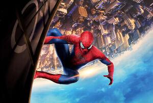 1000 Piece Deluxe Wooden Jigsaw Puzzle Spider Man Superhero