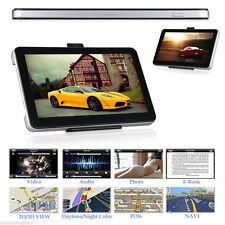 """7"""" 8GB PER AUTO CAMION AUTOCARRO Arenato LGV GPS Sat Nav Navigazione + mappe del mondo + AGGIORNAMENTI A VITA"""